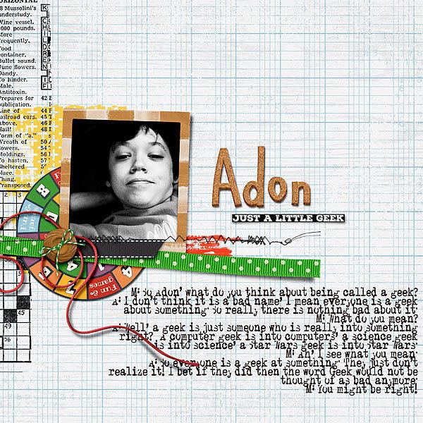 Adon: just A little Geek