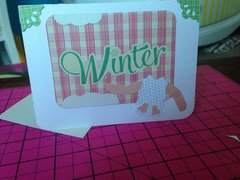 baby its cold outside card