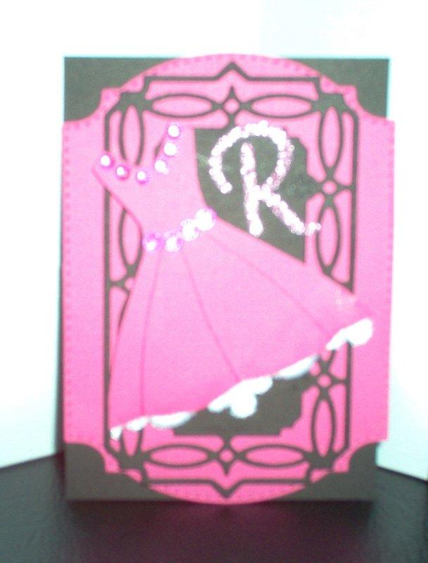 Pink dress ATC