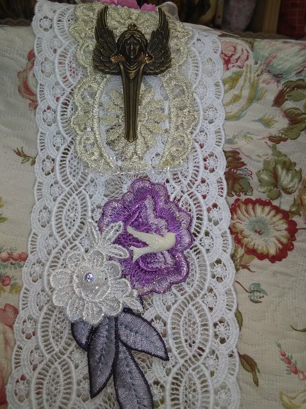 A Lace Roll or Hanging
