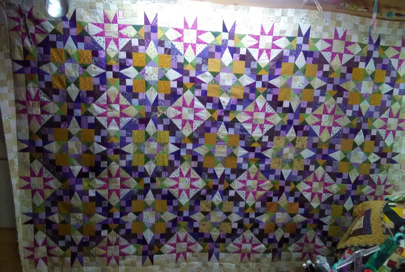 Quilts I'm working on