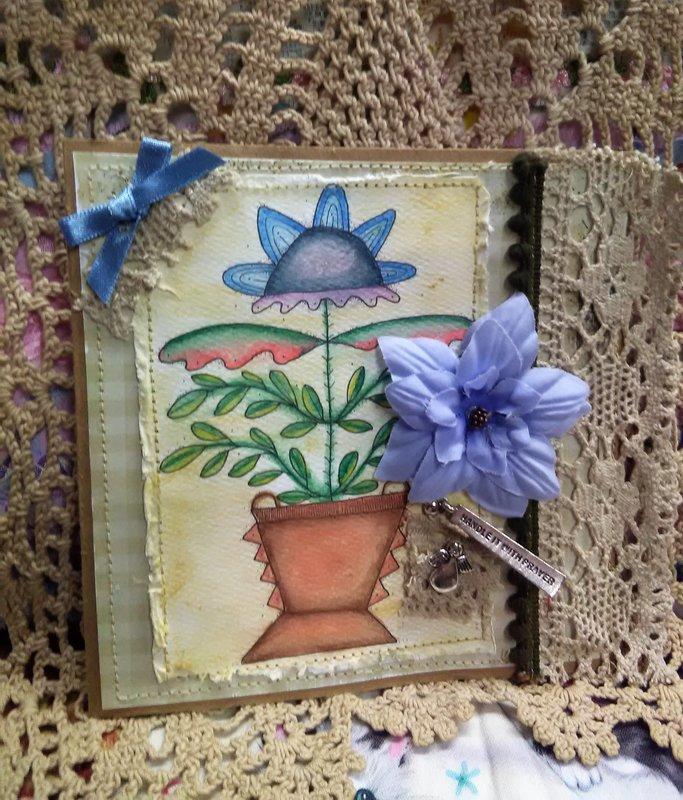 Adorn~It Folk Prayer card