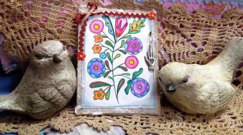 Adorn~It Folk card