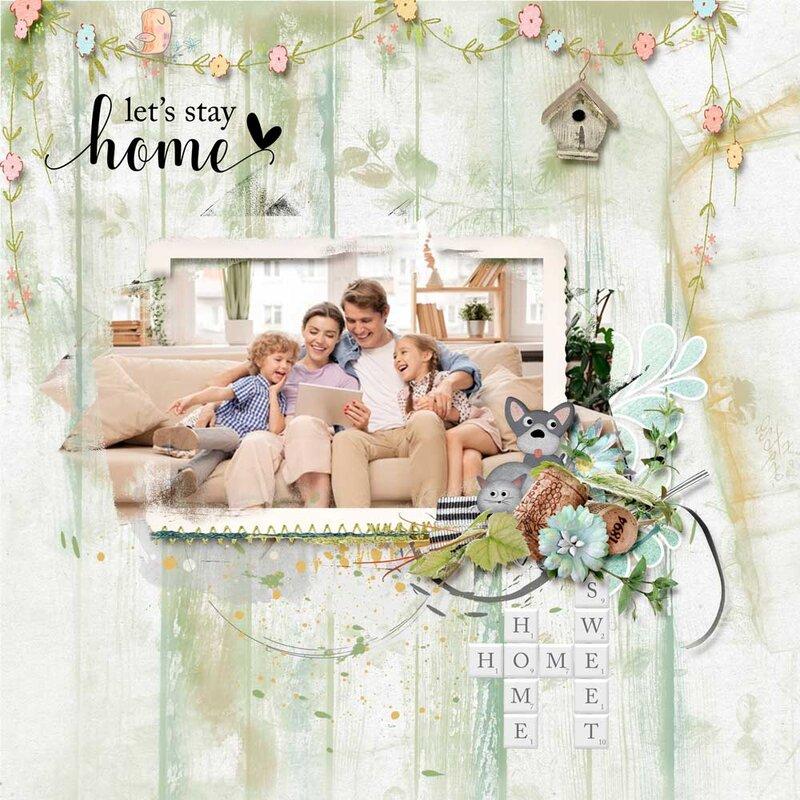 Home Sweet Home  by Karen Schulz