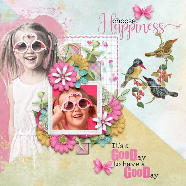 Choose Happiness by  MDD Designs