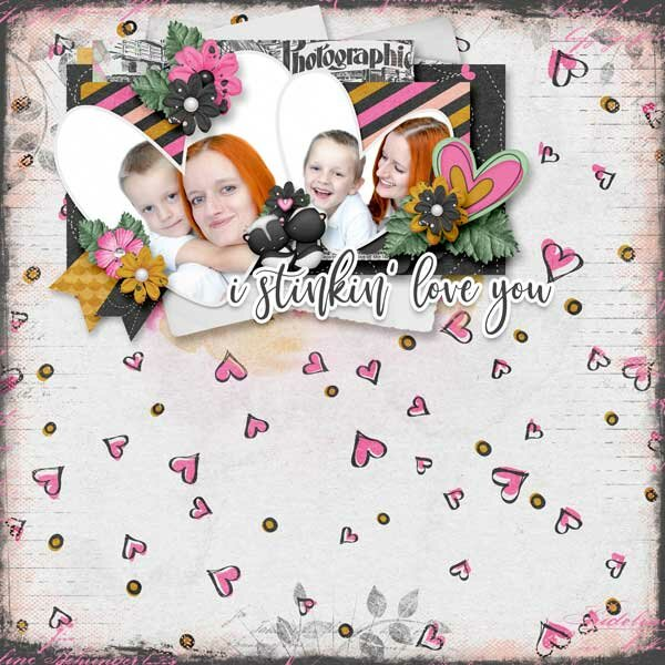 I Stinkin' Love You  BBD Bundle by Jen Yurko