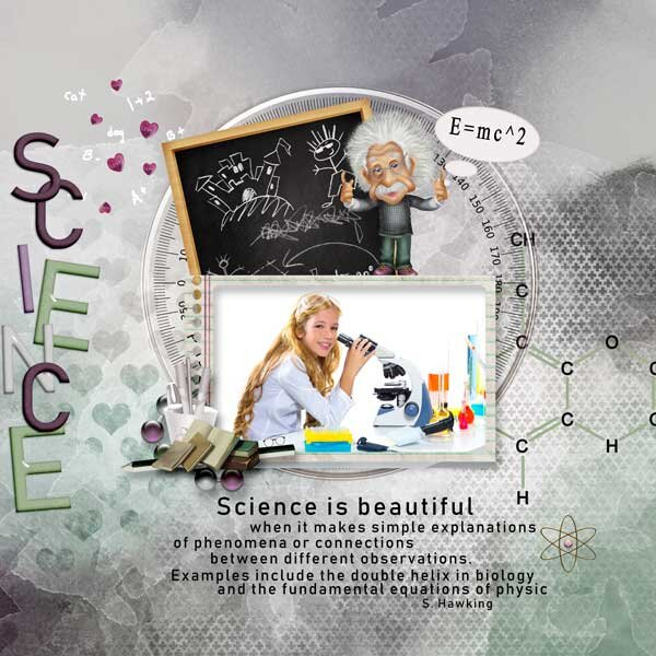 I love Science by Pat's Scrap