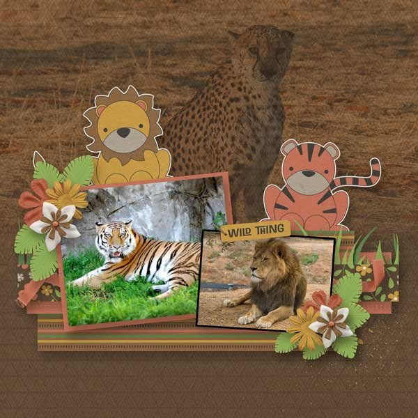 It's a Jungle Out There by Joyful Expressions