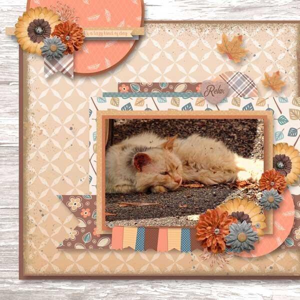 Lazy Autumn Days Bundle by Miss Fish