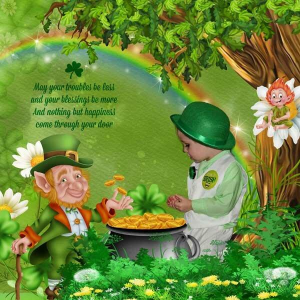 St Patrick's day by KittyScrap