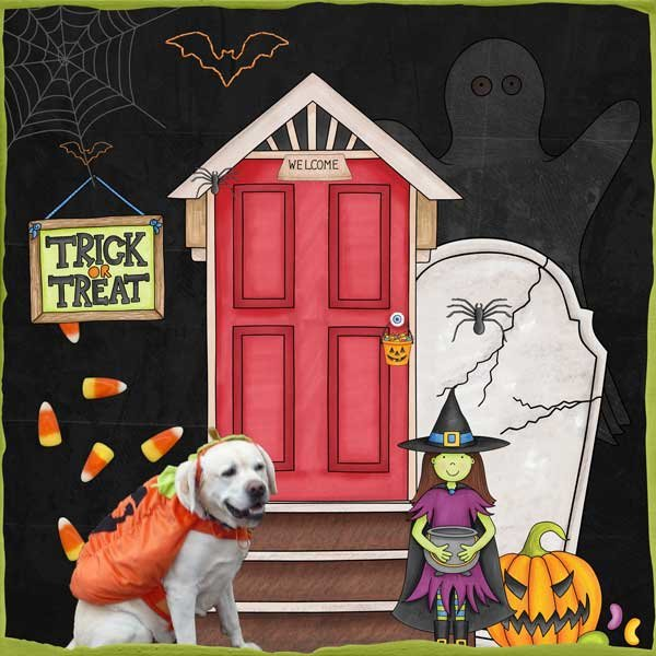 Trickity Treat  by Kim Jensen & Kate Hadfield
