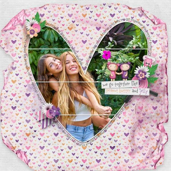 We Go Together Like PB&J by Jen Yurko