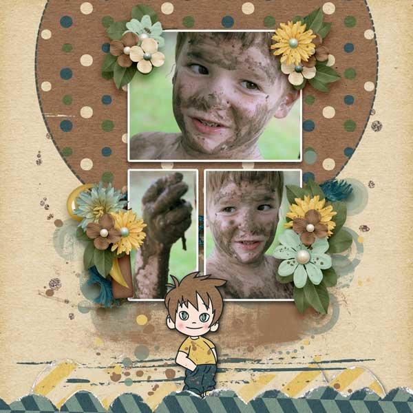 A Little Dirt Never Hurt  by Jen Yurko