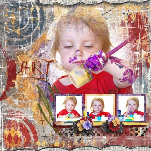 Artistic Abandon by Created by Jill