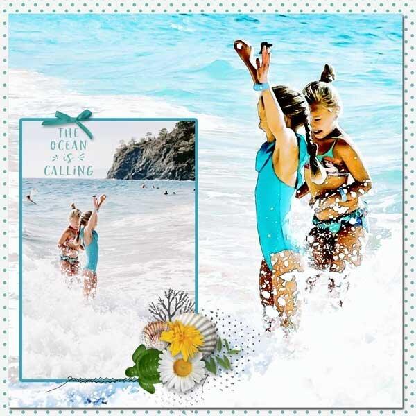 By The Sea by Karen Chrisman Designs