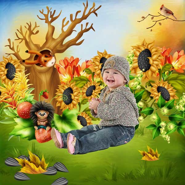 Fall Child by Bee Creations