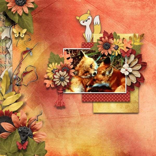 Foxy Fall by Jen Yurko