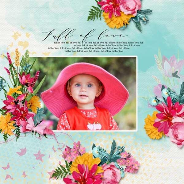 Full of love by DitaB Designs