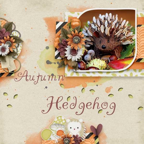 Hedgie Love & October Memories  by Jen Yurko