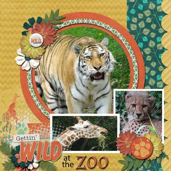 Kingdom Of Animals by Connie Prince