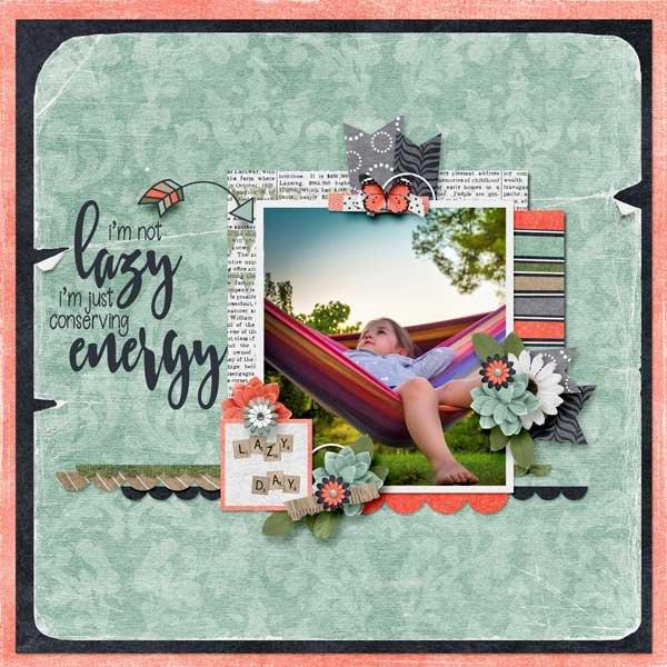 Lazy Day by Jen Yurko