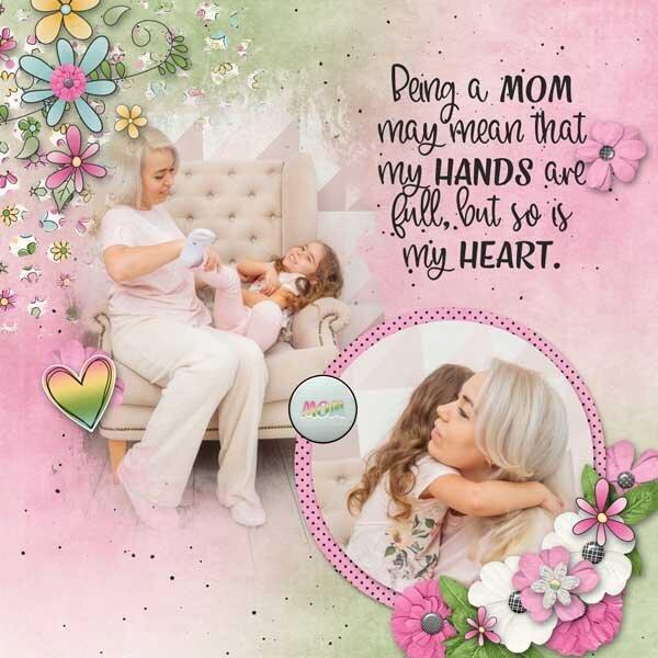 Mom Life by  Cheryl Day
