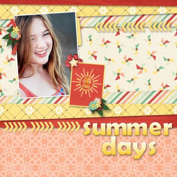 Monthly Mix: Taste Of Summer  by Gingerscraps Designers