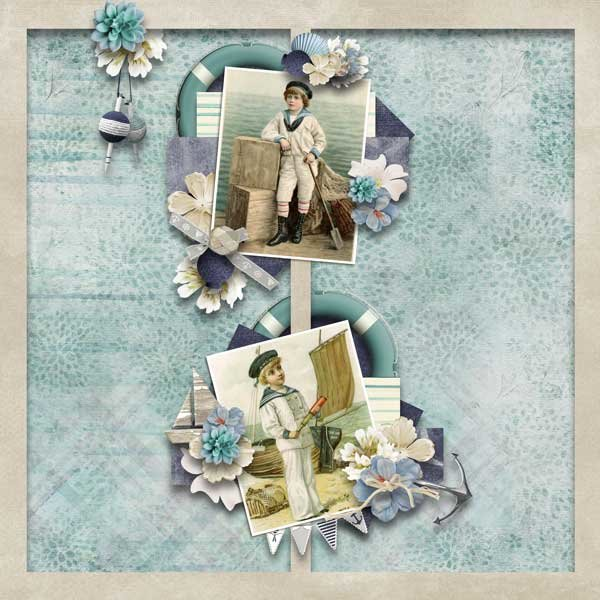 Navy Chic  by Vero - The French Touch