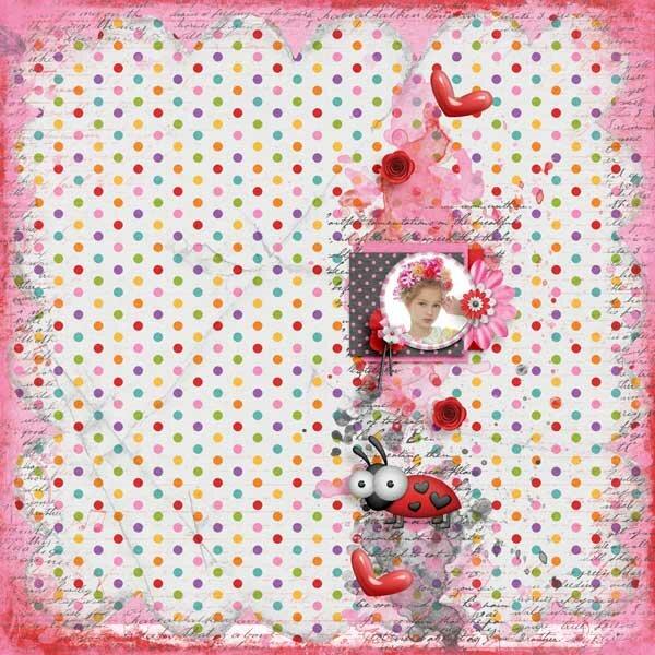 Rainbow Love  February Add On Bundle by Jen Yurko