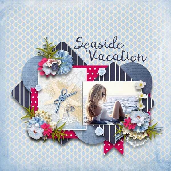 Seaside Vacation  by Eudora Designs
