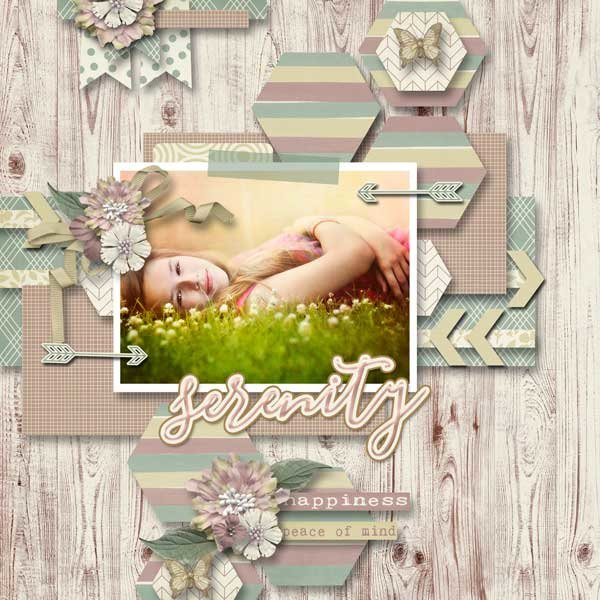 Serenity  by Ponytails Designs