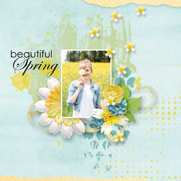 Simply Spring by LorieM Designs