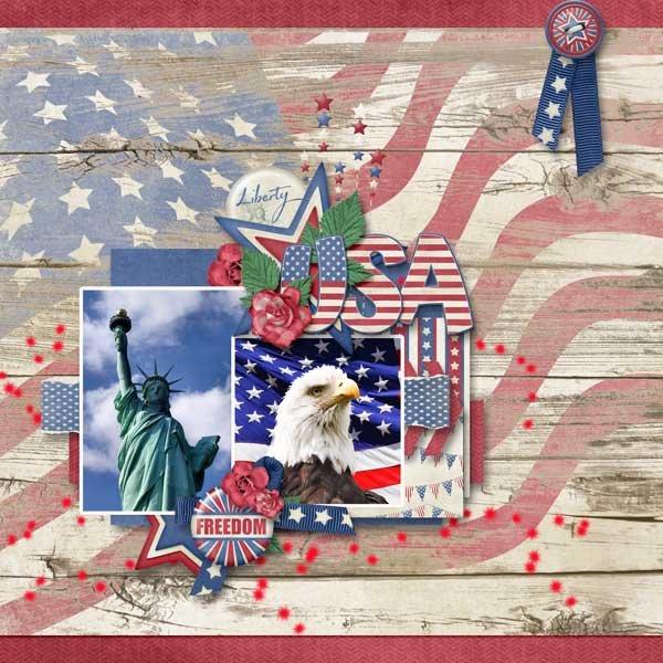 Small World  USA Mini Kit by Kristmess