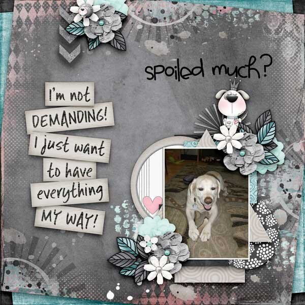 Spoiled Much?  by Fayette Designs