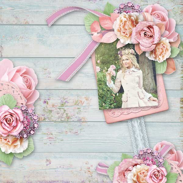 Then  and now by Ilonka´s Scrapbook Designs
