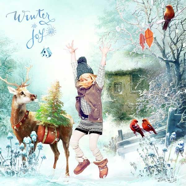Through the Snow We Go by Lorie Davison