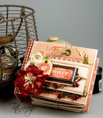 A recipe book for favorite desserts