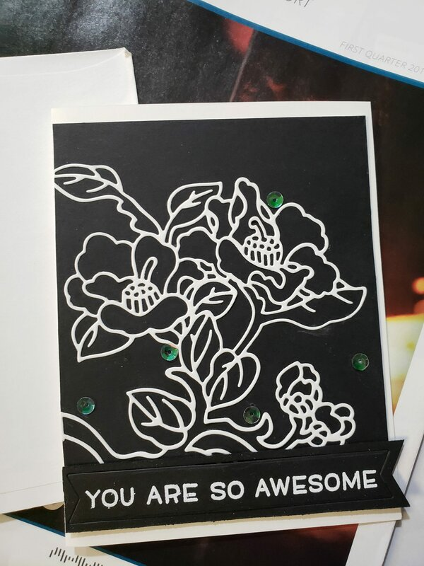 You are so awesome card