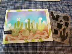 Howdy Cactus Card