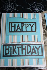 Happy Birthday Card-Outside