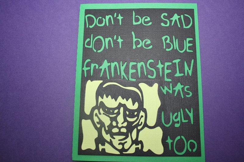 Frankenstein Ugly too