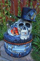 Halloween Hat Box