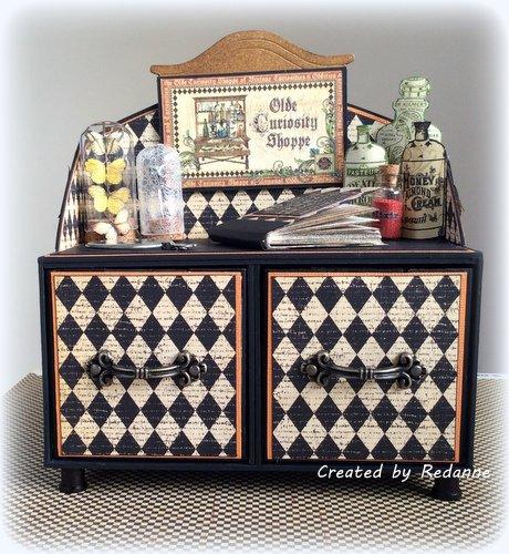 Artist Trading Block Cabinet