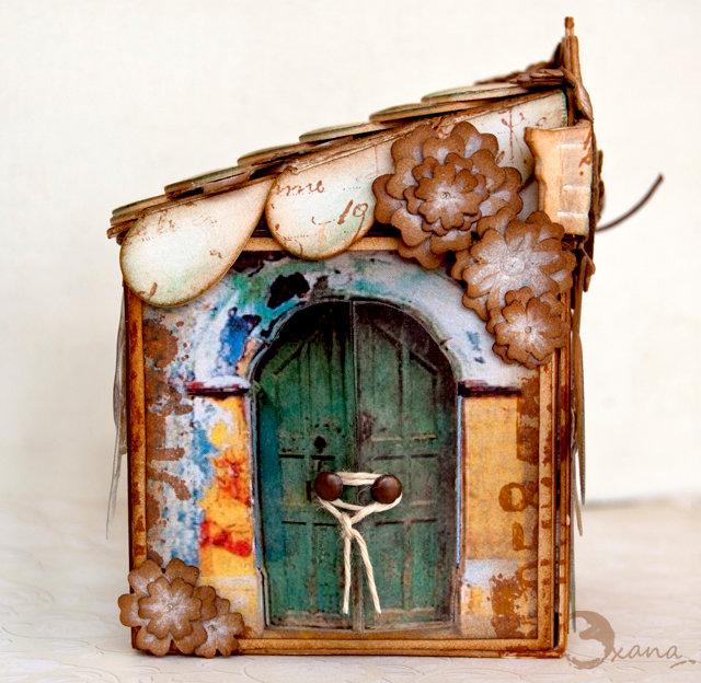 Fairy house- Artist Trading Block