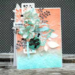 Botanical Ombre Card