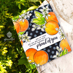 Orange Blossom Card