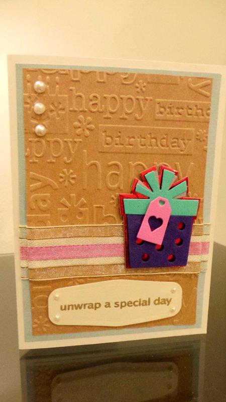 Unwrap a Special Day Birthday Card