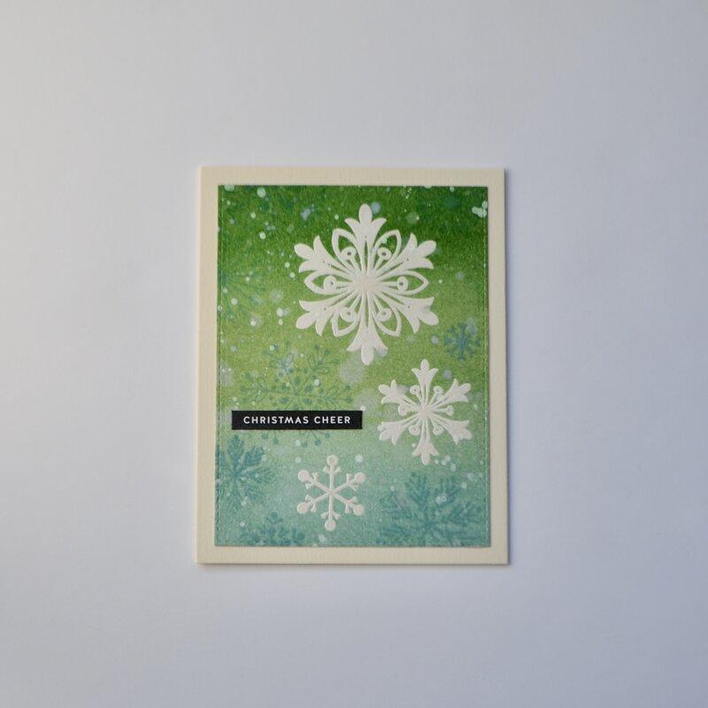 Christmas Cheer Snowflakes