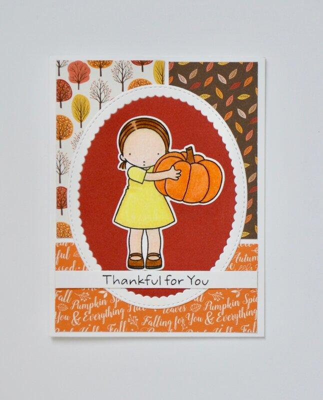 Thankful Li'l Pumpkin