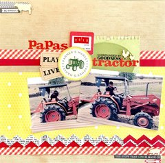 ~Papa's Tractor~